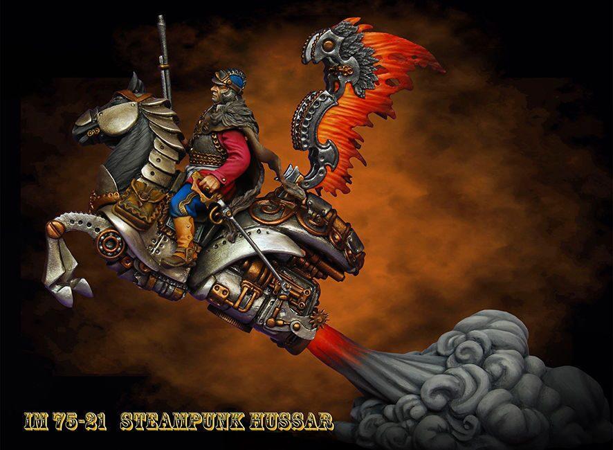 Steampunk Hussard irbis miniatures